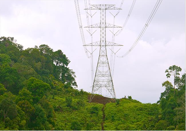 Ứng dụng tiêu biểu của EGLA trên đường dây truyền tải ở Malaysia.