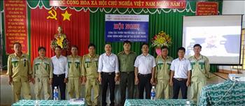 Hội nghị tuyên truyền bảo vệ hành lang lưới điện cao áp trên địa bàn xã Phú Trung- huyện Phú Riềng– tỉnh Bình Phước.