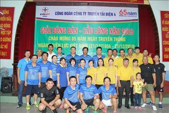 Hội thao chào mừng 65 năm ngày Truyền thống  ngành Điện lực Việt Nam  (21/12/1954 – 21/12/2019)