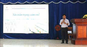 """Truyền tải điện miền Đông 2 tổ chức hội thảo """"Đẩy mạnh thực thi các giá trị cốt lõi Văn hóa EVNNPT"""""""