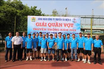 Giải quần vợt truyền thống Công ty 2019