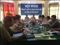 Hội nghị tổng kết công tác bảo vệ an toàn hệ thống lưới điện truyền tải tại UBND huyện Giồng Riềng, tỉnh Kiên Giang.