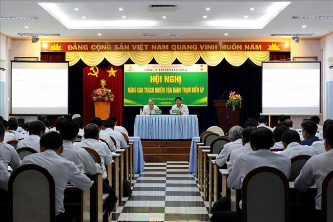Hội nghị nâng cao trách nhiệm vận hành Trạm biến áp