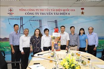 Công đoàn Tổng công ty Truyền tải điện Quốc gia thăm hỏi, tặng quà nhân dịp Tết Canh Tý năm 2020