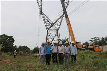 Hoàn thành công tác Sửa chữa lớn năm 2020 xử lý khoảng cách pha - đất đường dây 500kV Đắk Nông – Cầu Bông