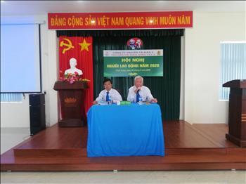 Hội nghị Người lao động Truyền tải điện Miền Tây 2 năm 2020