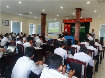 Tập thể Truyền tải điện Miền Tây 2 hướng về Hội nghị Người lao động Công ty Truyền tải điện 4.