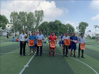 Giải bóng đá mini chào mừng kỷ niệm 91 năm Ngày thành lập Công đoàn Việt Nam (28/7/1929 - 28/7/2020).