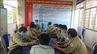 Đội TTĐ Bạc Liêu  thực hiện theo Văn hóa EVNNPT.