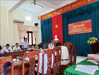 Triển khai công tác bảo vệ hành lang an toàn lưới điện cao áp trên địa bàn Huyện Châu Thành, Hậu Giang.
