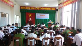 Hội nghị tuyên truyền bảo vệ an toàn lưới điện truyền tải tại huyện Thới Lai, TP. Cần Thơ.
