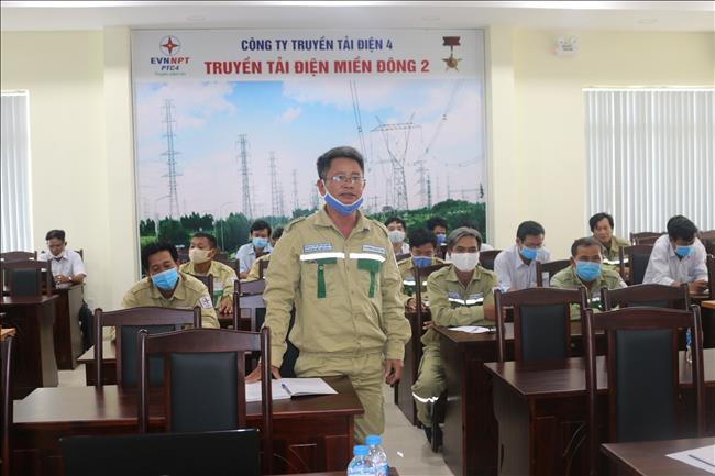 Truyền tải điện miền Đông 2 tổ chức bồi huấn nhận diện mối nguy và đánh giá rủi ro năm 2020