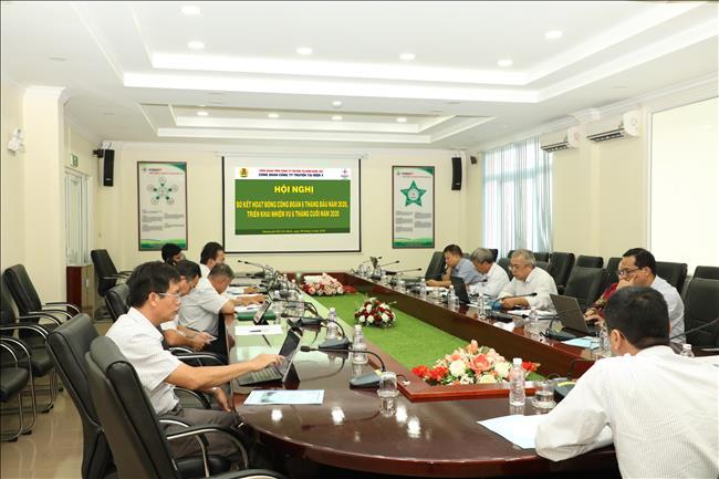 Hội nghị sơ kết Công đoàn Công ty 6 tháng đầu năm 2020  và triển khai nhiệm vụ 6 tháng cuối năm 2020