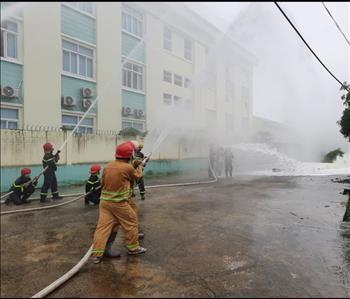 """Truyền tải điện miền Tây 2 hưởng ứng  """"Ngày toàn dân phòng cháy, chữa cháy 04/10"""""""