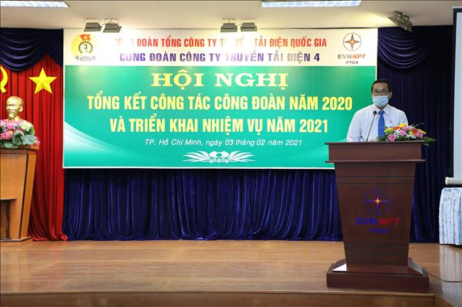 Hội nghị trực tuyến Tổng kết hoạt động Công đoàn Công ty năm 2020 và triển khai nhiệm vụ năm 2021