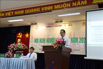 Hội nghị Người lao động Công ty Truyền tải điện 4 năm 2021