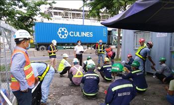 Đội Truyền tải điện Thủ Đức bồi huấn An toàn điện và Bảo vệ hành lang an toàn lưới điện cao áp cho đơn vị thi công đường sắt đô thị tuyến Bến Thành – Suối Tiên.