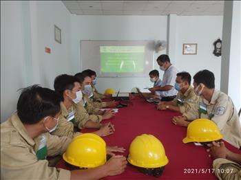 Truyền tải điện miền Tây 1 tổ chức diễn tập phương án Phòng chống thiên tai và tìm kiếm cứu nạn (PCTT&TCCN) năm 2021