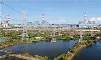Truyền tải điện miền Tây 2 hoàn thành nhiệm vụ Công trình thay dây chống sét đường dây 500kV Duyên Hải – Mỹ Tho.