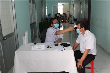 Truyền tải điện Miền Tây 3 triển khai tiêm vắc xin phòng ngừa dịch bệnh Covid-19