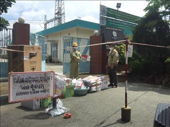 Trạm 220kV Bình Hòa nêu cao tính tuân thủ và trách nhiệm trong công tác phòng chống dịch