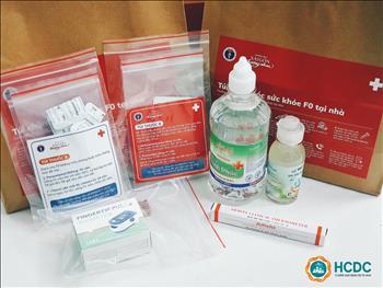 Túi thuốc dành cho F0 điều trị tại nhà: Sử dụng sao cho đúng.