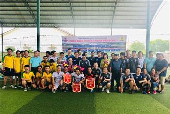 Truyền tải điện miền Đông 1 tổ chức Giải bóng đá Truyền thống chào mừng ngày thành lập Công Đoàn Việt Nam (28/07/1929 –28/07/2019).
