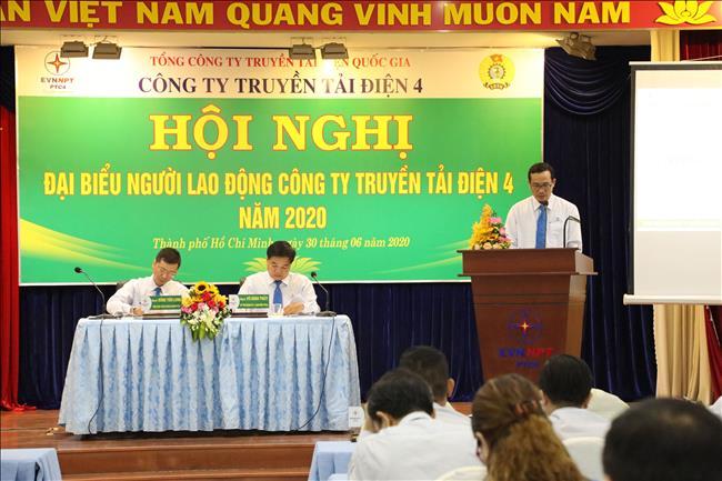PTC4 tổ chức thành công Hội nghị Người lao động năm 2020.