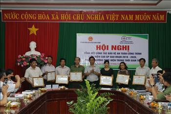UBND huyện Chơn Thành phối hợp Truyền tải điện miền Đông 2 Tổ chức Hội nghị tổng kết công tác bảo vệ an toàn công trình lưới điện cao áp